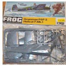 Maquetas: MAQUETA DEL CAZA GRUMMAN F6F-3 HELLCAT F.MK.1 DE FROG A 1/72 (VINTAGE, BLISTER, DE 1972!!!). Lote 207126281