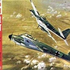 Maquetas: MAQUETA DEL CAZA PESADO MESSERSCHMITT ME 410A-1/U-4 HORNET DE FROG A 1/72 (VINTAGE, DE 1966!!!). Lote 207127352