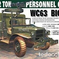 Maquetas: U.S. 1-1/2 TON PERSONNEL CARRIER WC63 ′BIG SHOT 1:35 AFV CLUB AF35S18. Lote 207146158