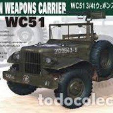 Maquetas: U.S. 3/4 TON WEAPONS CARRIER WC51 BEEP 1:35 AFV CLUB AF35S15. Lote 207146565