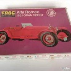 Maquetas: ALFA ROMEO 1931 GRAN SPORT. Lote 207153002