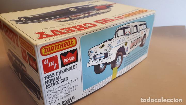 Maquetas: Maqueta ´55 chevrolet wagon esc.1/25 de la marca Matchbox-AMT - Foto 3 - 207176096