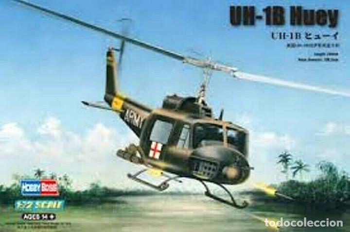 UH-1B HUEY 1/72 HOBBY BOSS REF: 87228 (Juguetes - Modelismo y Radio Control - Maquetas - Aviones y Helicópteros)