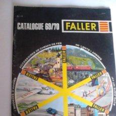 Maquetas: CATALOGO FALLER 1969/70. Lote 207532402