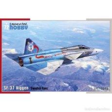 Maquetas: SPECIAL HOBBY 72390 # 1/72 SF-37 VIGGEN RECCE. Lote 208002838