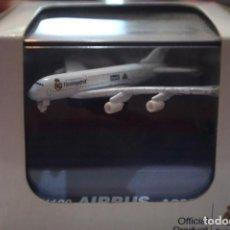Maquetas: AIRBUS A380 REAL MADRID NEWRAY 1:1100. Lote 208335440
