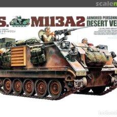 Macchiette: US M113A2 APC (DESERT VERSION) TAMIYA 1/35. Lote 208434640