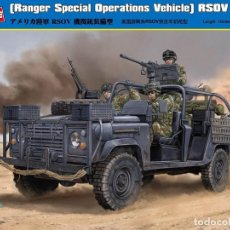 Macchiette: RANGER SPECIAL OPERATIONS VEHICLE RSOV W/MG HOBBY BOSS 1/35. Lote 208434902