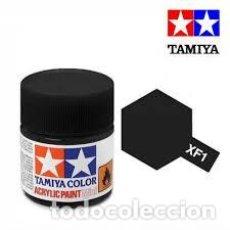 Maquetas: TAMIYA - NEGRO MATE XF1. Lote 208897616