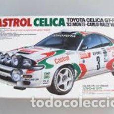 Maquettes: TAMIYA - CASTROL CELICA ´93 MONTE-CARLO RALLY WINNER 1/24 24125. Lote 208898998