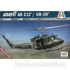 Maquetas: ITALERI - BELL AB 212 /UH1N 1/48 2692. Lote 208899368