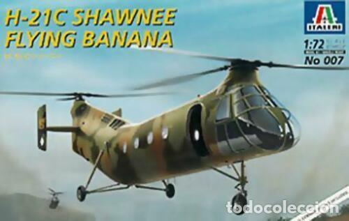 007 ITALERI 1/72 H21C SHAWNEE FLYING BANANA SEALED / SELLADO (Juguetes - Modelismo y Radio Control - Maquetas - Aviones y Helicópteros)