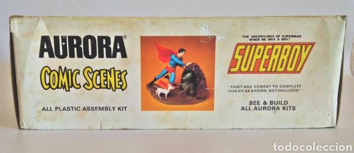 Maquetas: SUPERBOY. Model Kit año 1974. - Foto 2 - 209102375