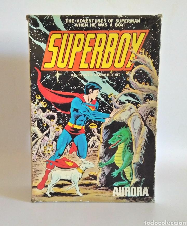 SUPERBOY. MODEL KIT AÑO 1974. (Juguetes - Modelismo y Radiocontrol - Maquetas - Otras Maquetas)