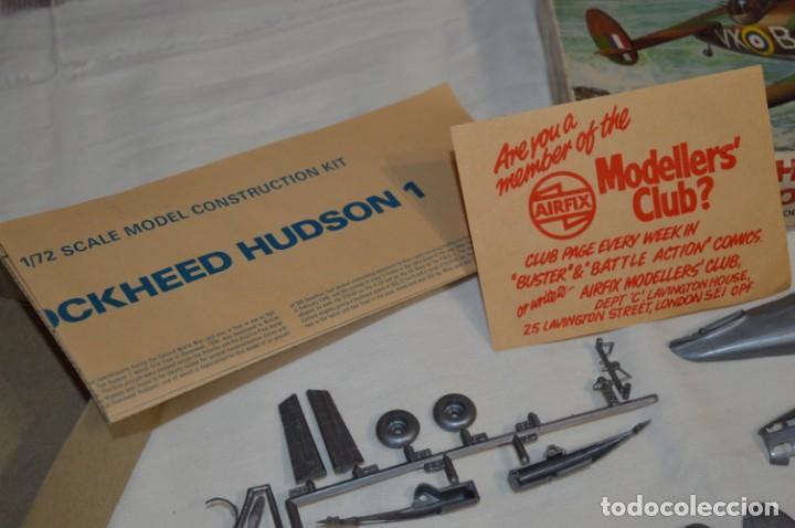 Maquetas: LOCKHEED HUDSON 1 / VINTAGE - AIRFIX / Model Kit 1/72 1:72 - Serie 3, Años 70 ¡Mira fotos/detalles! - Foto 13 - 209125613