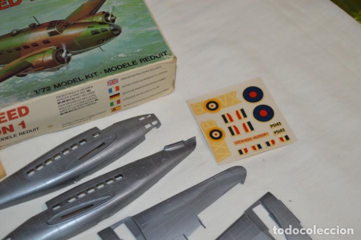 Maquetas: LOCKHEED HUDSON 1 / VINTAGE - AIRFIX / Model Kit 1/72 1:72 - Serie 3, Años 70 ¡Mira fotos/detalles! - Foto 14 - 209125613
