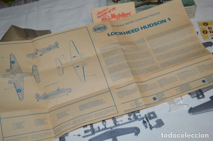 Maquetas: LOCKHEED HUDSON 1 / VINTAGE - AIRFIX / Model Kit 1/72 1:72 - Serie 3, Años 70 ¡Mira fotos/detalles! - Foto 17 - 209125613