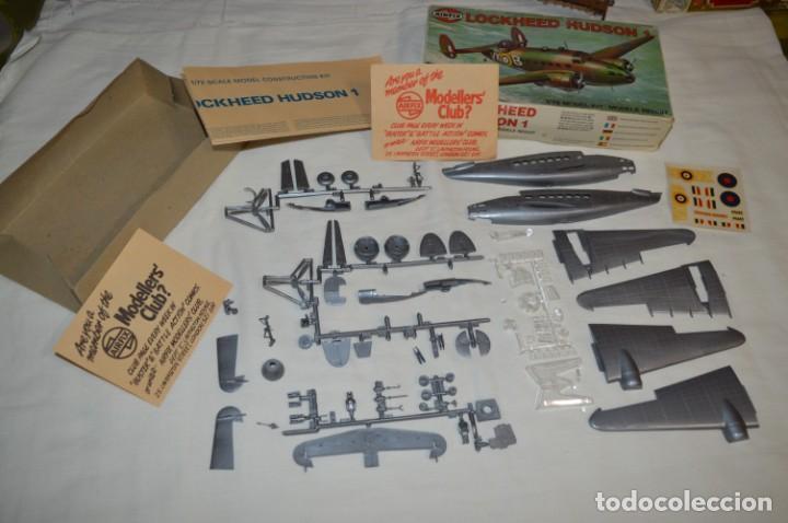 Maquetas: LOCKHEED HUDSON 1 / VINTAGE - AIRFIX / Model Kit 1/72 1:72 - Serie 3, Años 70 ¡Mira fotos/detalles! - Foto 2 - 209125613