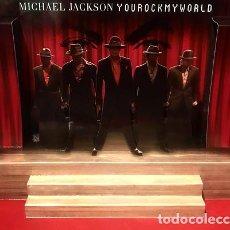 Maquetas: DIORAMA MICHAEL JACKSON YOU ROCK MY WORLD - POP UP CD DISPLAY STAND - EDICION LIMITADA MAQUETA PAPEL. Lote 263148975