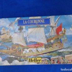 Maquetas: HELLER - MAQUETA LA COURONNE, 1/600 HELLER REF 80126 VER FOTOS Y DESCRIPCION! SM. Lote 209605223