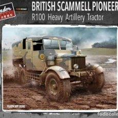 Maquetas: BRITISH SCAMMELL PIONEER R100 ARTILLERY TRACTOR THUNDER MODEL 1:35. Lote 209632150