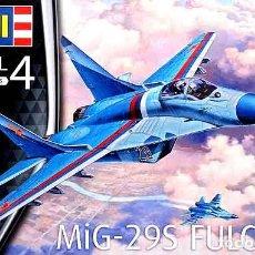 Maquetas: MAQUETA DEL CAZA RUSO MIKOYAN GUREVICH MIG-29S FULCRUM (HALCONES RUSOS) REVELL A 1/72. Lote 209762921