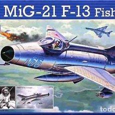 Maquetas: MAQUETA DEL CAZA RUSO MIKOYAN-GUREVICH MIG-21F-13 FISHBED-C DE REVELL A 1/72. Lote 209762975