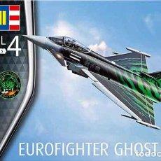 Maquetas: MAQUETA DEL CAZABOMBARDERO EUROFIGHTER TYPHOON (GHOST TIGER) DE REVELL A ESCALA 1/72. Lote 209763040