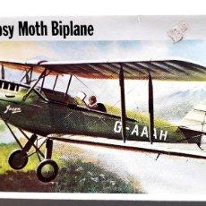 Maquetas: DE HAVILLAND DH.60G GIPSY MOTH (GUERRA CIVIL) 1/72 FROG. Lote 209782818