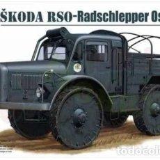 Maquetas: ŠKODA RSO- RADSCHLEPPER OST RIICH 1:35. Lote 209788283