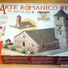 Maquetas: ARTE ROMANICO KIT - ST. JOAN DE BOI - DOMUS-KIT - NUEVO. Lote 209867490
