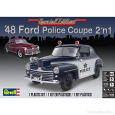 Maquetas: REVELL 14318 # 1948 FORD POLICE COUPE 2'N1 - 1:25. Lote 209881796
