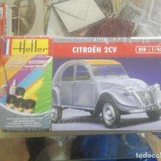 Maquetas: HELLER - 80175 - MAQUETA PARA CONSTRUIR - CITROEN 2 CV - 1/43. Lote 210205710