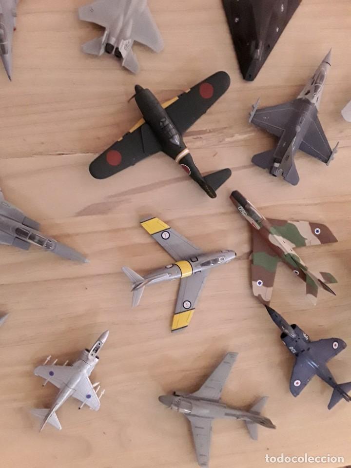 Maquetas: Lote de 36 aviones a escala - Foto 2 - 210384798
