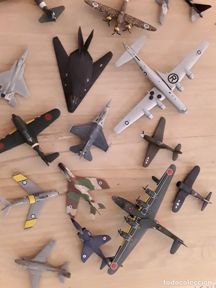 Maquetas: Lote de 36 aviones a escala - Foto 3 - 210384798