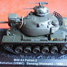 Maquetas: M-48A3 PATTON. METAL ALTAYA ESCALA 1/72. Lote 210650455