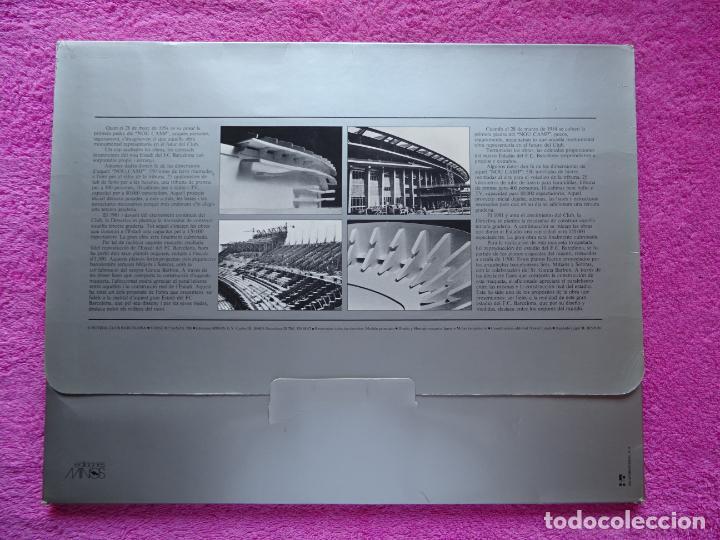 Maquetas: estadio fc barcelona nou camp maqueta troquelada sede del mundial 82 ediciones minos 1981 - Foto 2 - 210672354