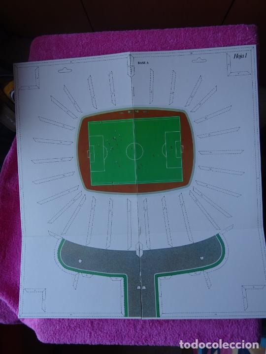 Maquetas: estadio fc barcelona nou camp maqueta troquelada sede del mundial 82 ediciones minos 1981 - Foto 8 - 210672354