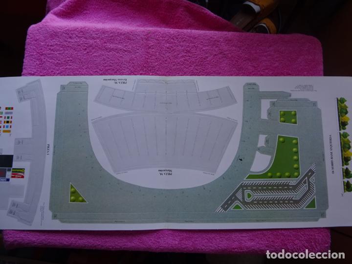 Maquetas: estadio fc barcelona nou camp maqueta troquelada sede del mundial 82 ediciones minos 1981 - Foto 10 - 210672354