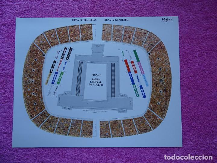 Maquetas: estadio fc barcelona nou camp maqueta troquelada sede del mundial 82 ediciones minos 1981 - Foto 14 - 210672354