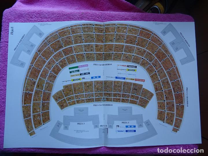 Maquetas: estadio fc barcelona nou camp maqueta troquelada sede del mundial 82 ediciones minos 1981 - Foto 15 - 210672354