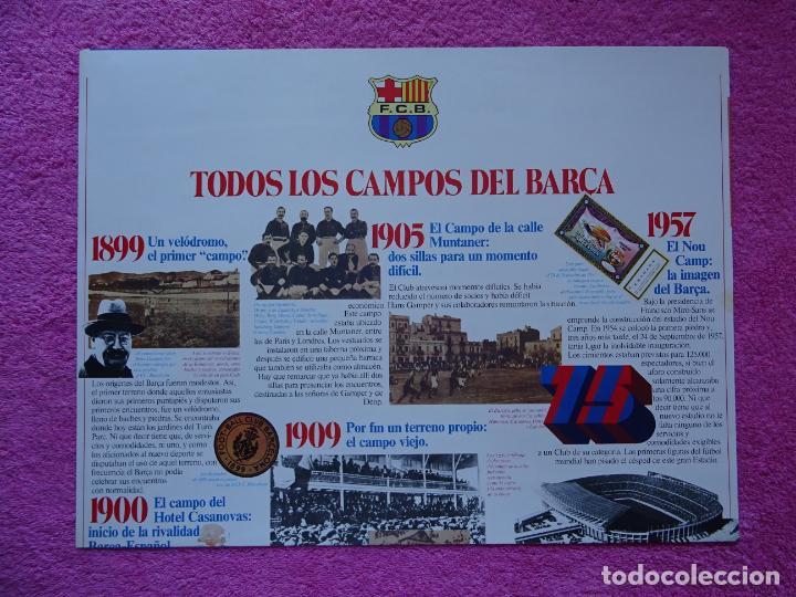 Maquetas: estadio fc barcelona nou camp maqueta troquelada sede del mundial 82 ediciones minos 1981 - Foto 18 - 210672354