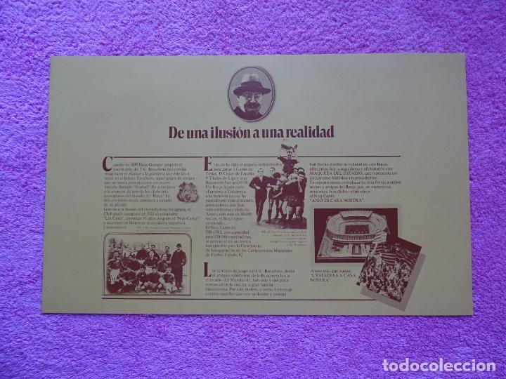Maquetas: estadio fc barcelona nou camp maqueta troquelada sede del mundial 82 ediciones minos 1981 - Foto 19 - 210672354