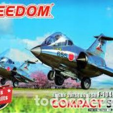 Maquetas: FREEDOM - J.A.S.D.F. SQ & 203 SQ F-104J/F-104DJ 162703 TRAE 2 UNIDADES EN LA CAJA. Lote 210735165