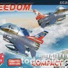 Maquetas: FREEDOM - ROCAF F-16A/F-16B BLOCK 20 106709 TRAE 2 UNIDADES. Lote 210738537