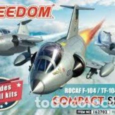 Maquetas: FREEDOM - ROCAF F-104/TF-104 & RF-104 162702 TRAE 3 KITS. Lote 210746684