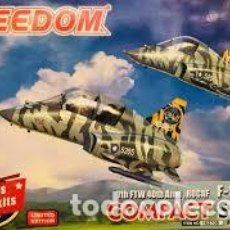 Maquetas: FREEDOM - 7TH FTW 40TH ANNI ROCAF F-5E/F-5F 162706 TRAE 2 KITS EDICION LIMITADA. Lote 210746760