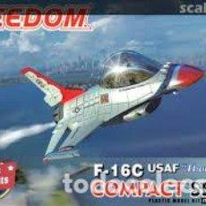 Maquetas: FREEDOM - F-16C USAF THUMDERBIRDS 162020. Lote 210746865