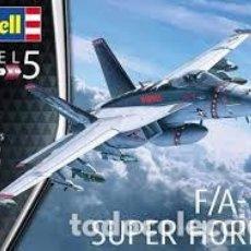 Maquetas: REVELL - F/A-18E SUPER HORNET 1/32 04994. Lote 210793891