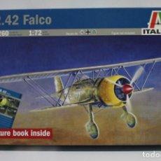 Maquetas: MAQUETA ITALERI CR.42 FALCO ESCALA 1/72. Lote 210832230
